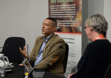 Labour Conference 2018: Nurturing the Green Economy – In Conversation with Clive Lewis MP, Shadow Exchequer Secretary to the Treasury