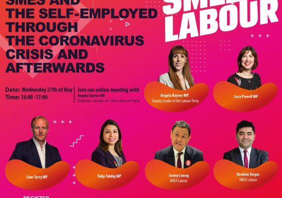 How Labour can support SMEs and the self-employed through the Coronavirus crisis and afterwards